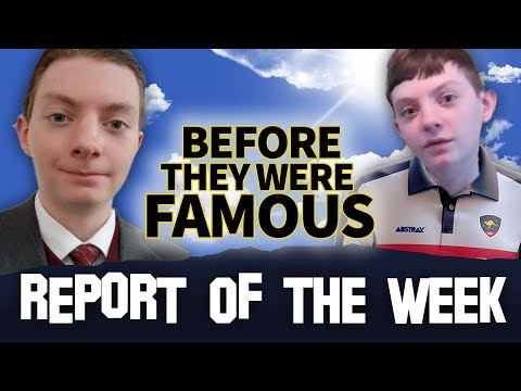 REPORT OF THE WEEK | Before They Were Famous | Reviewbrah Biography