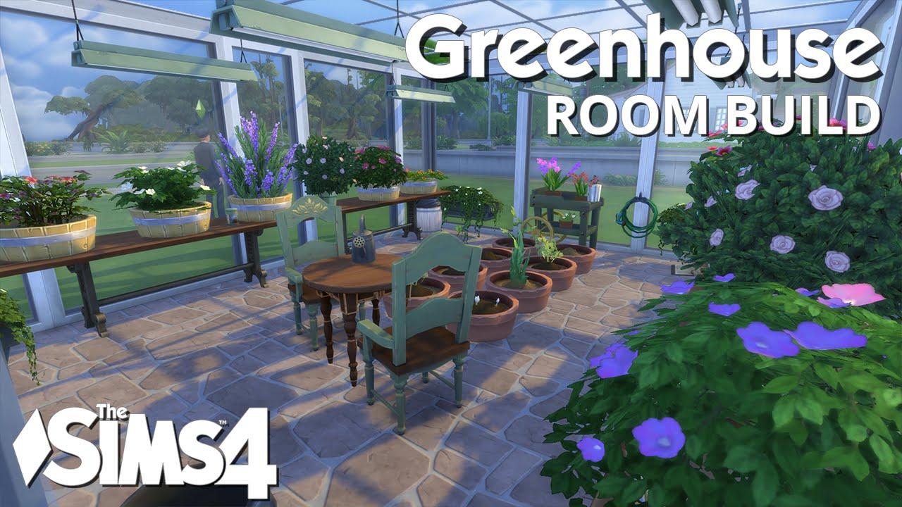 Sims  How To Build A Greenhouse