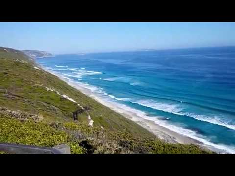 Southern Ocean Waves seen from Albany in Western Australia