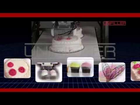 Cake Decorating Equipment In Sri Lanka : Unifiller Robotic Cake & Cupcake Decorating Machine - YouTube