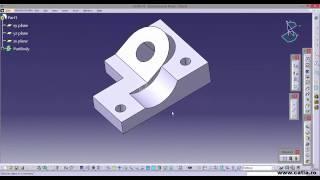 catia video tutorial 13