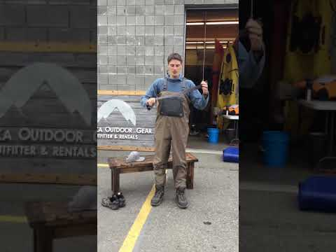 How To Put On Boots/waders