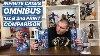 INFINITE CRISIS OMNIBUS 1st & 2nd Print Comparison
