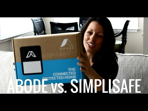 Abode vs. SimpliSafe Home Security + Cameras