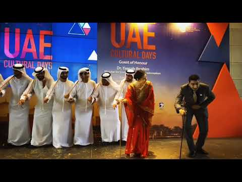 Performing for the United Arab Emirates (UAE)'s Cultural Days