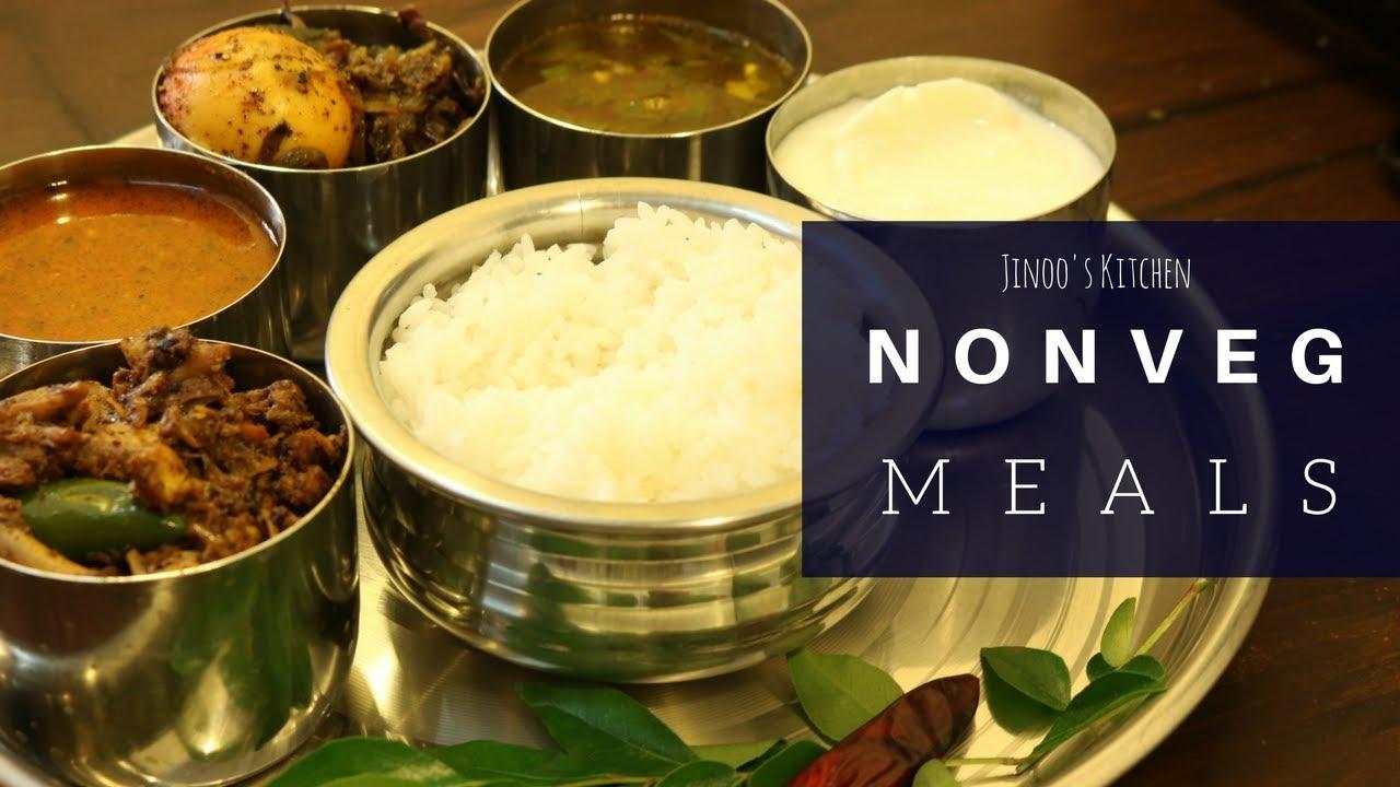non veg meals in tamil nadu style| non veg menu tamil ...