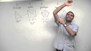 Geometry – Angles of Polygons thumbnail