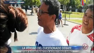 Imágenes sin cortes: la verdad del cuestionado debate entre Lucía Alvites y Renzo Ibáñez