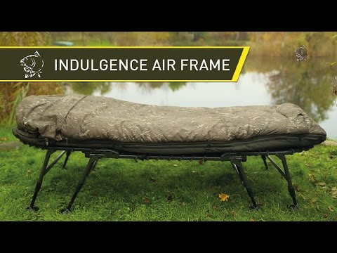 Nash 2014 INDULGENCE Air Frame Sleep System for Carp Fishing - Nash 2014 Carp Fishing DVD Movie