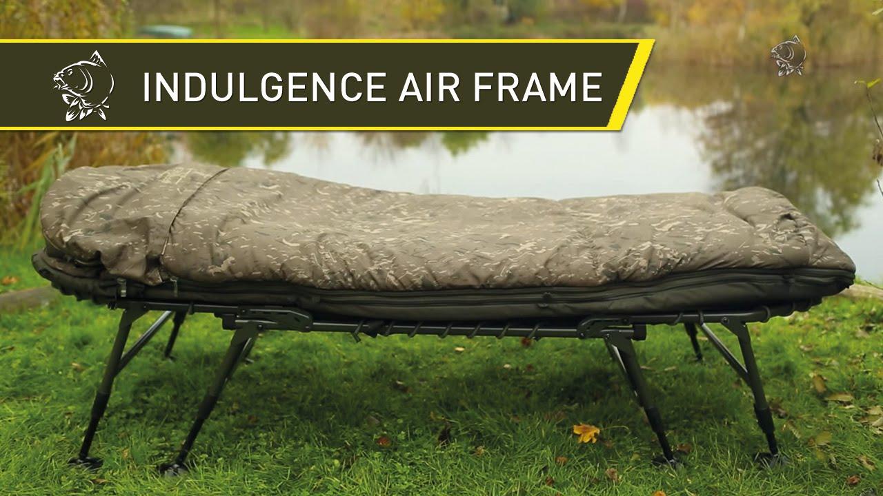 Nash 2014 INDULGENCE Air Frame Sleep System for Carp Fishing - Nash ...