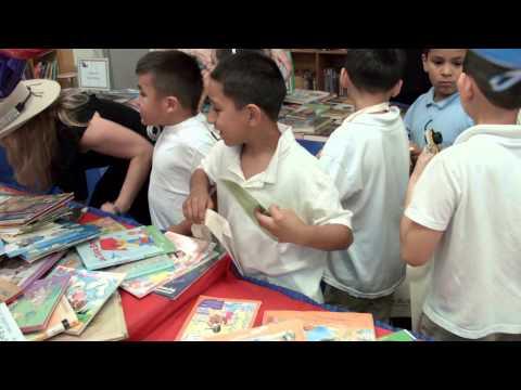 Book Donation at Pugh ES