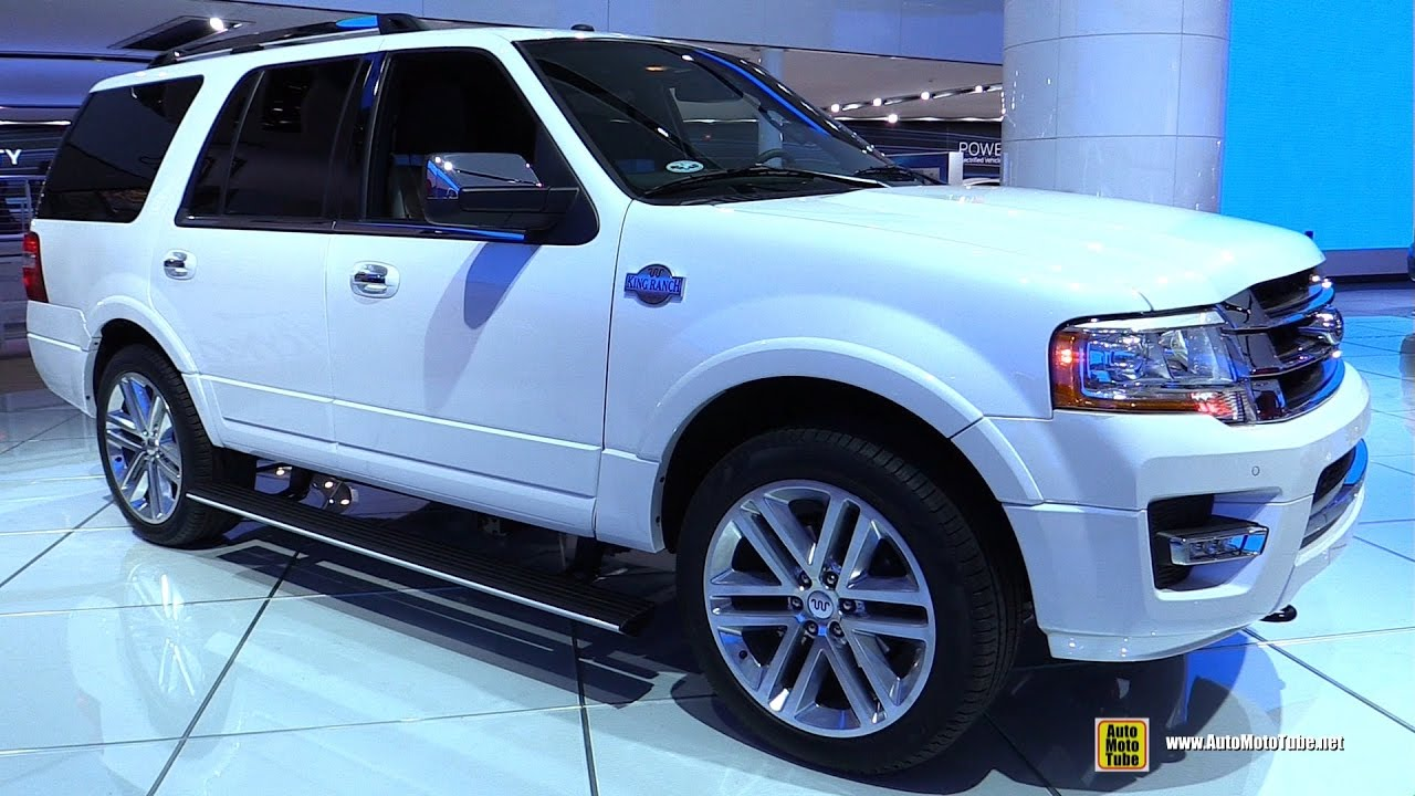 2017 ford expedition king ranch walkaround 2017 detroit auto show youtube. Black Bedroom Furniture Sets. Home Design Ideas