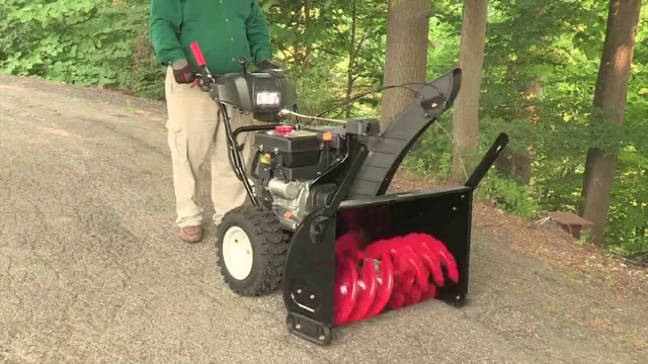How To Adjust A Snower Auger Control Sears Partsdirect
