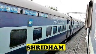 WAM4 Shridham Overtakes WAP4 Janta