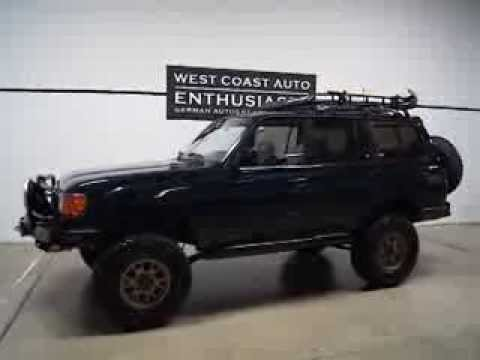 1995 Land Cruiser FJ80 Custom Mods