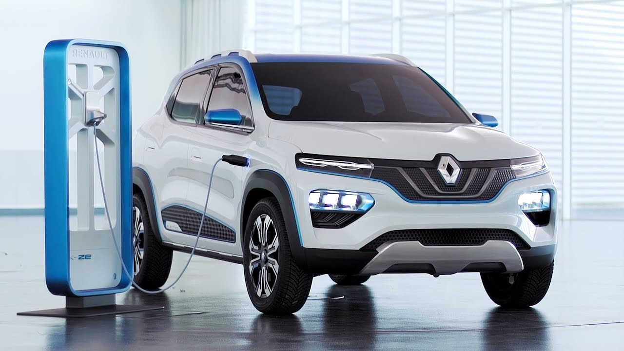 Renault K Ze Electric Crossover Based On The Renault Kwid