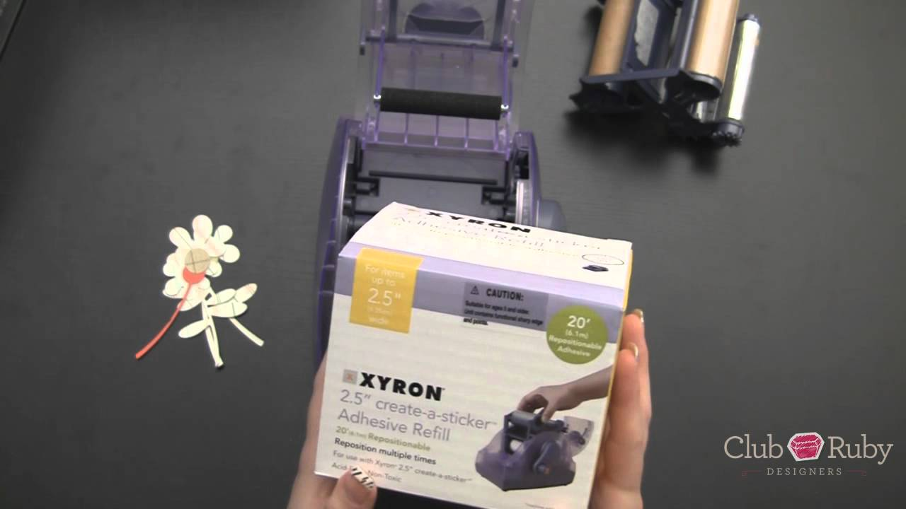 xyron 250 sticker machine