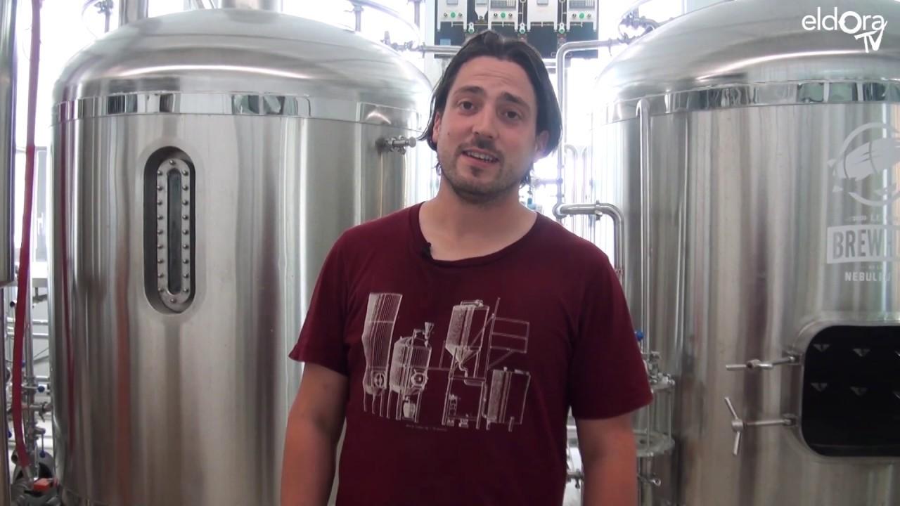 Visite de la brasserie la Nébuleuse avec Kouros Ghavami (VD)