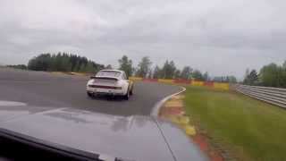 CRAZY driving from LAST to top - Spa - Escort RS 1600