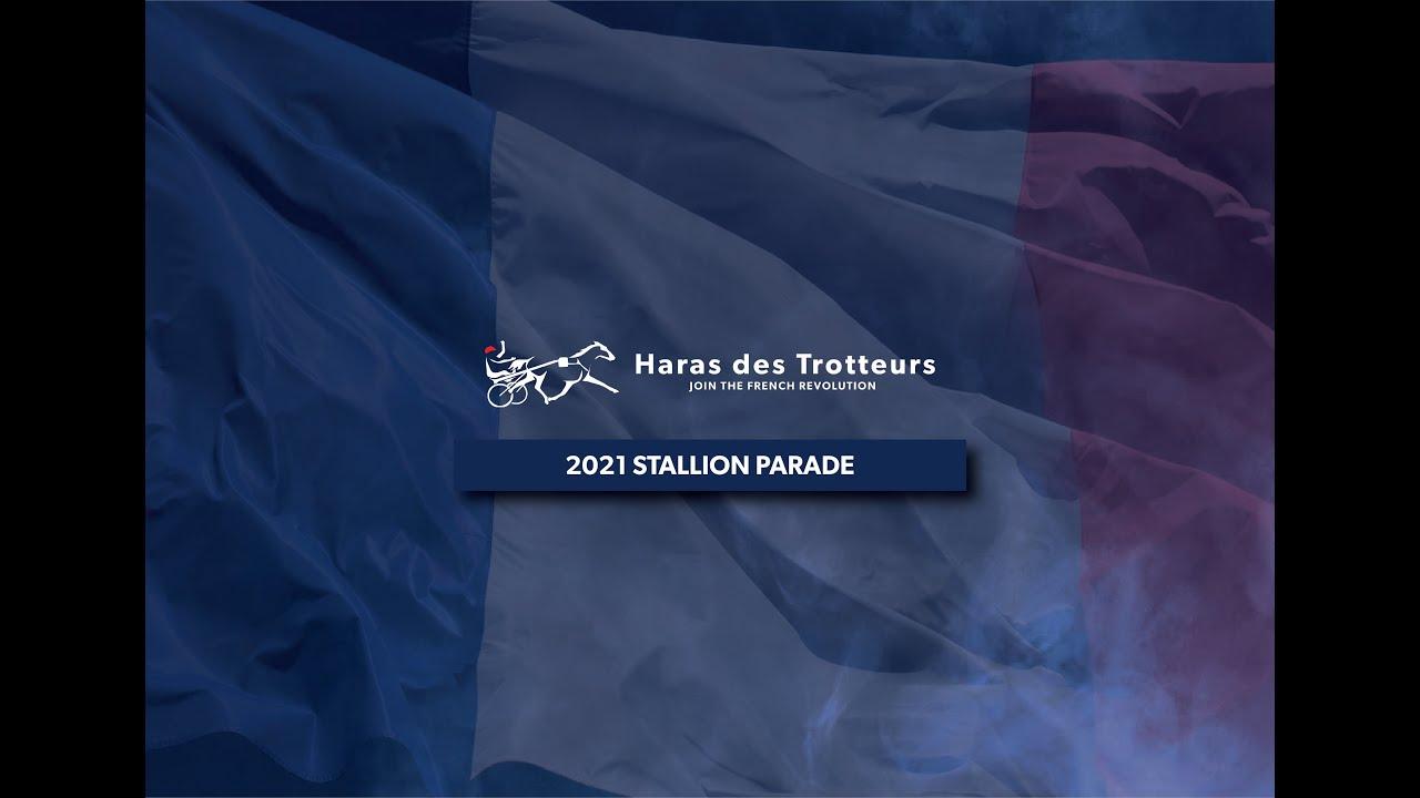 2021 Virtual Stallion Parade   Haras des Trotteurs