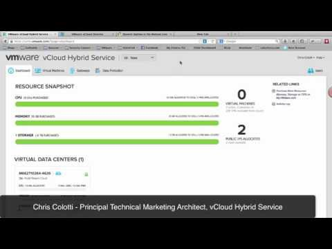 Failing over a Public Website using vCloud Air Disaster Recovery