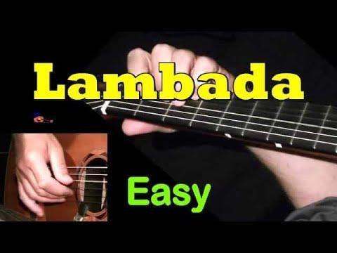 LAMBADA: Easy Guitar Lesson + TAB by GuitarNick