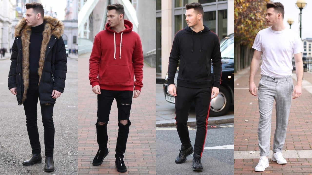 8dc0d9b93dc Mens Streetwear Lookbook 2019 - Top 4 Stylish Outfits For Winter ...