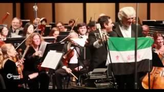 الموسيقار مالك الجندلي يعزف من أجل السلام في سوريا بأستراليا