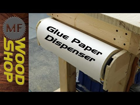 Keep the table clean with a Glue Paper Dispenser
