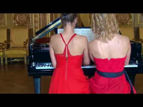 Schubert Fantasie f minor Anna & Milena Buchenhorst