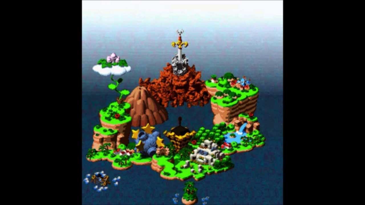 Super Mario Rpg Music Snes Map Youtube
