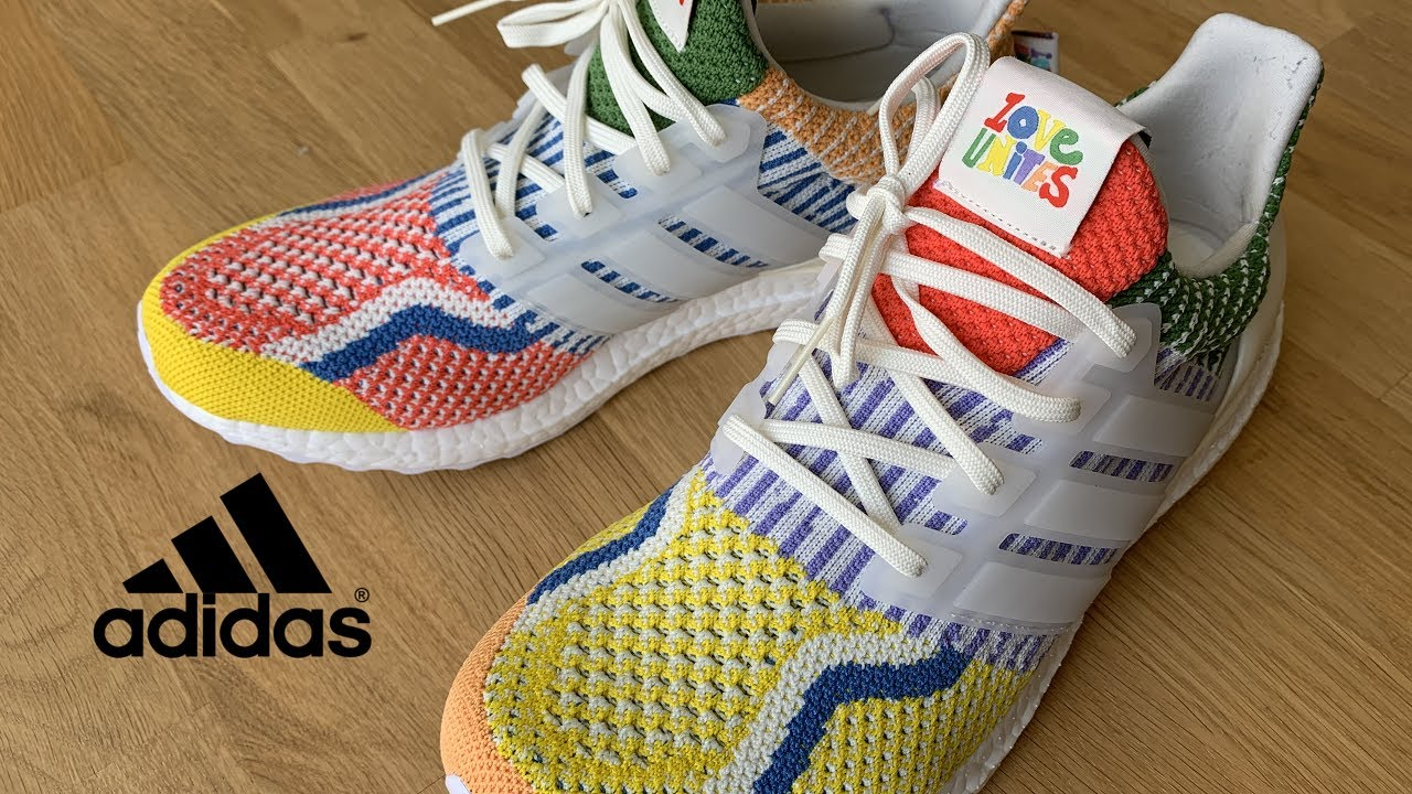 adidas Ultra Boost 5.0 DNA   Pride Pack - Love Unites   Unboxing & On Feet