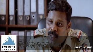 Police Protects Goons - Scene | Me Shivajiraje Bhosale Boltoy - Marathi Movie | Sachin Khedekar