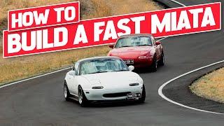 How to make your Mazda MX-5 Miata FASTER