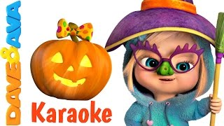 Halloween Songs - Karaoke! | Halloween Song Collection | Nursery Rhymes from Dave and Ava