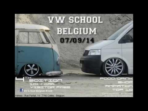 Vw School Belgium Event 2014