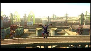 GTA San Andreas - Spiderman Mod + RenderHook (Gameplay)