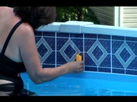 borderlines pool borders adhesive pool tile at poolborders com