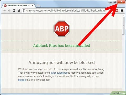 Como Instalar -ADBLOCK PLUS- Google Chrome- 2018- QUITAR ANUNCIOS- Forma Legal Y Segura