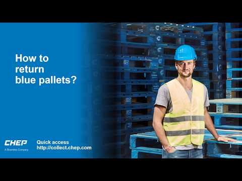 How To Return Blue Pallets From CHEP?