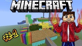 Прохождение карты в Minecraft : Найди верный путь [# 1]