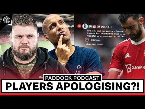 Bruno Fernandes Apology… Do Players Need To Apologise?! | Paddock Podcast