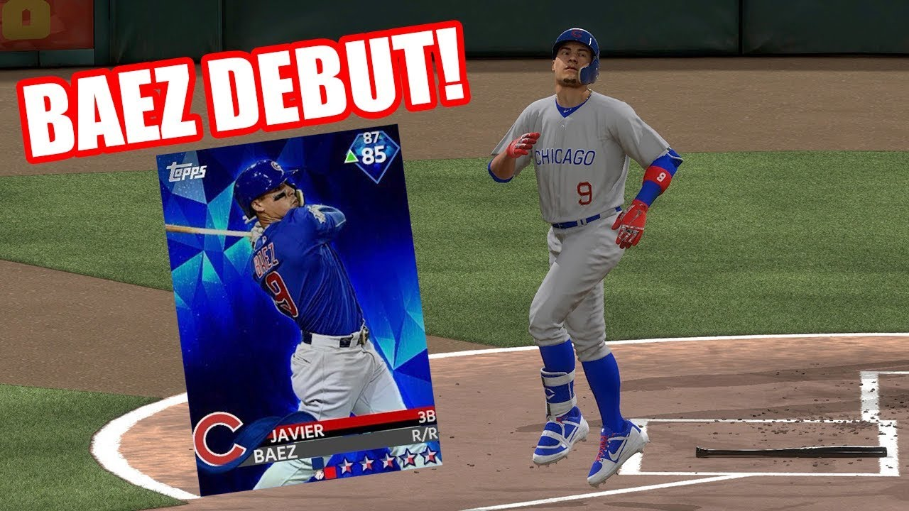 You Need To Get This Card 85 Javier Baez Debut Mlb The Show 18 Diamond Dynasty Gameplay