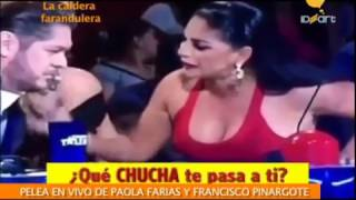 La Caldera farandulera: Pelea entre Paola farias, Carolina jaume y Francisco pinargote EXCLUSIVA