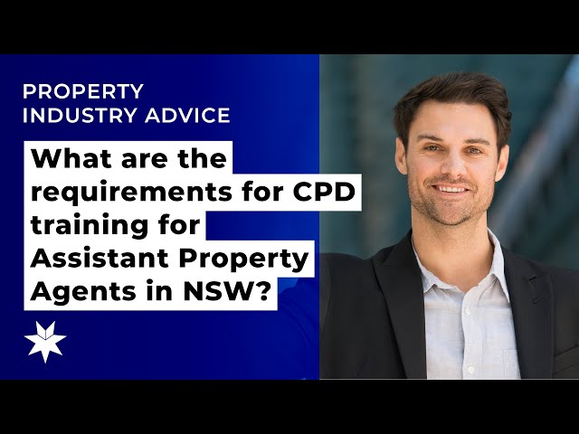 What are the requirements for CPD training for Assistant Property Agents in NSW?