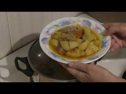 Как потушить говядину с картошкой в кастрюле