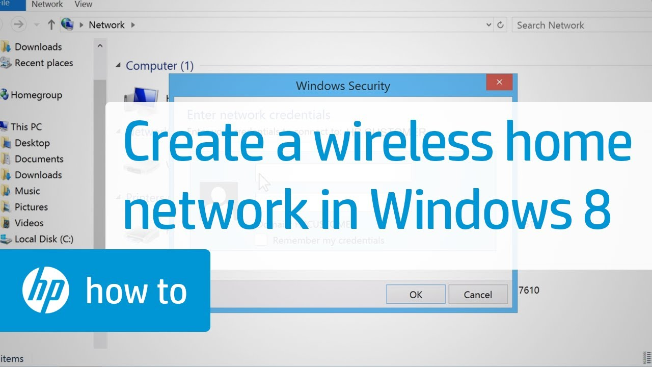 change network connection to private windows 8