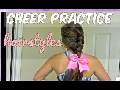 5 basic cheer hairstyles!