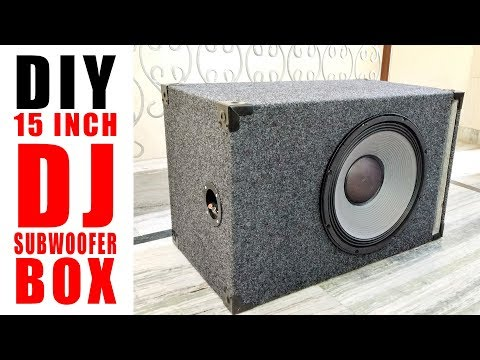 how to make a subwoofer