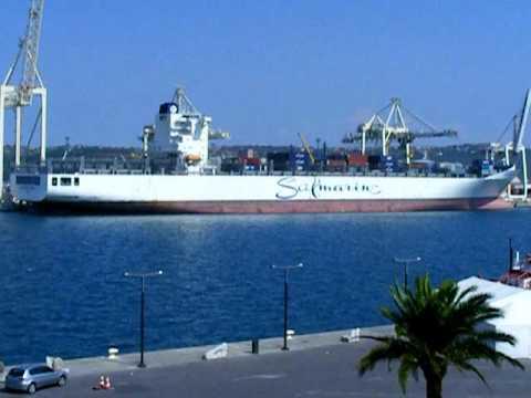 SAFMARINE KOMATI @ Port of Koper, Slovenia September. 02. 2009